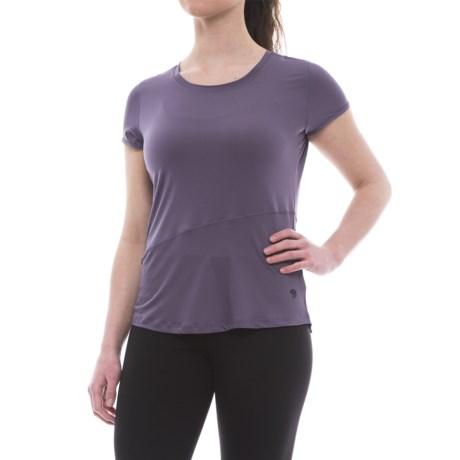 Mountain Hardwear Wicked Lite T-Shirt - Crew Neck, Short Sleeve (For Women)