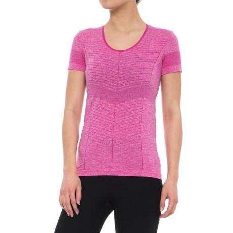 Salomon Elevate Seamless T-Shirt - Short Sleeve (For Women)