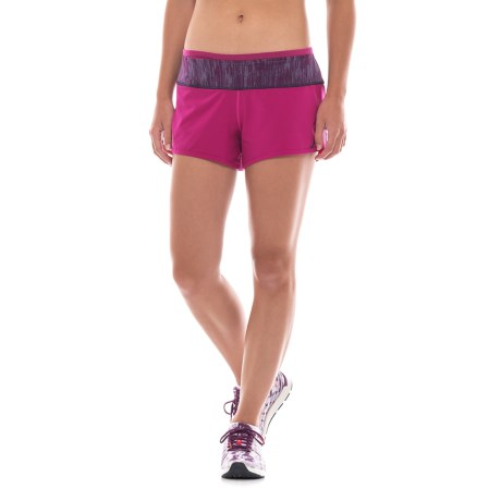 SmartWool PhD Running Shorts - Merino Wool, Built-In Briefs (For Women)