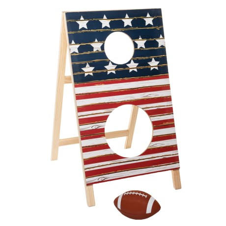 Professor Puzzle Touchdown Toss Game in Red/White/Blue