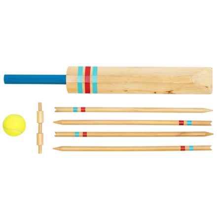 Professor Puzzle Wooden Garden Games Set - Cricket or Baseball in Cricket - Closeouts