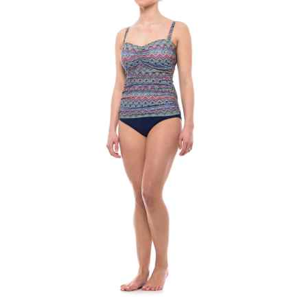Profile by Gottex Tequila Tankini Set - Padded Underwire Cups (For Women) in Multi - Closeouts