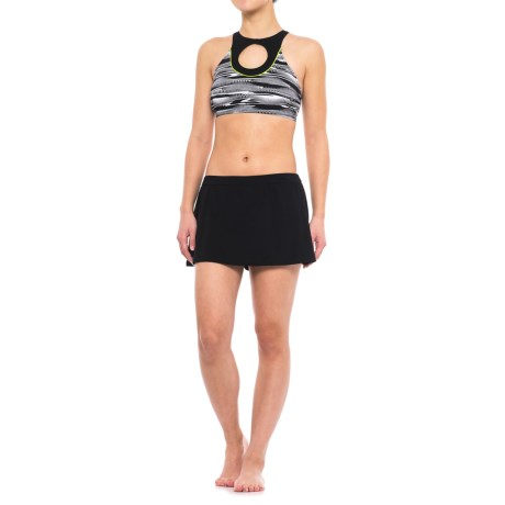 Profile Sports by Gottex Bikini and Skirt Set - UPF 50+ (For Women) in Black