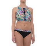 Profile Sports by Gottex Zipper Bikini Set - UPF 50+ (For Women)