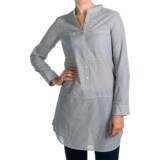 Project Brand Kelley Tunic Shirt - Cotton, Roll-Up Long Sleeve (For Women)