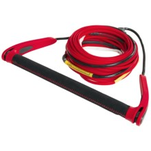 Proline Ropes Hybrid Package - 85', 3-5 Sections in Red - Closeouts