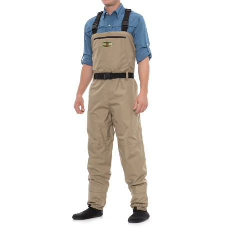 Proline Stonee Brook Chest Waders - Stocking Foot (For Men) in Taupe
