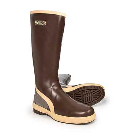 Proline Trumaxx 15 Rubber Boots - Waterproof (For Men) in Brown - Closeouts