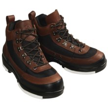 Proline Wading Boots - Leather, Studded Felt Sole (For Men) in Brown / Black - Overstock