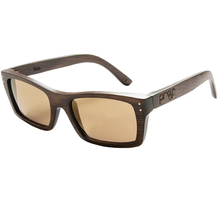 Proof Eyewear Boise Sunglasses - Wood Frame