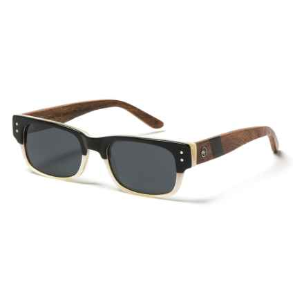 Proof Eyewear Borah Sunglasses - Polarized in Bone/Wood - Closeouts