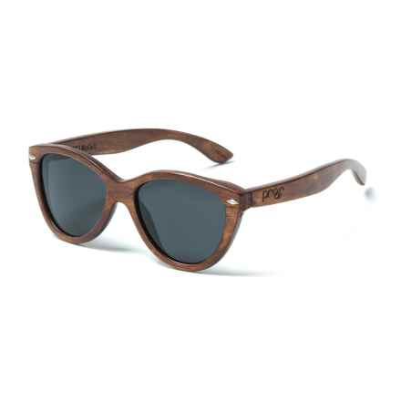 Proof Eyewear McCall Sunglasses - Polarized in Mahongany/Wood - Closeouts