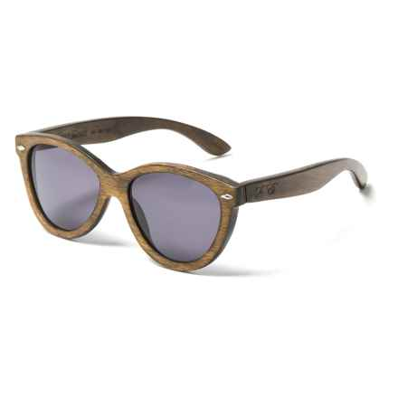 Proof Eyewear McCall Sunglasses - Polarized in Stained/Gray Wood - Closeouts