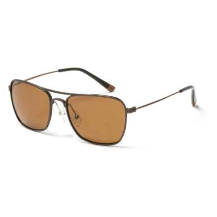 Proof Eyewear Overland Sunglasses - Polarized in Copper/Brown - Closeouts
