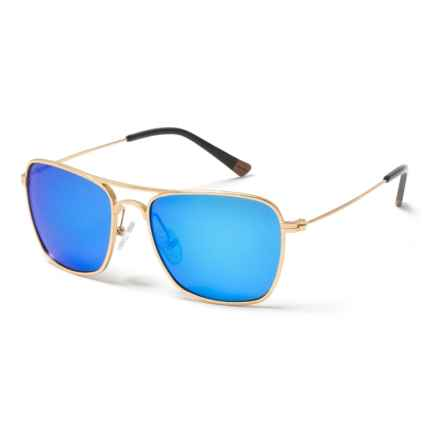 Proof Eyewear Overland Sunglasses - Polarized in Gold/Blue - Closeouts