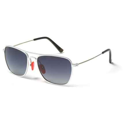 Proof Eyewear Overland Sunglasses - Polarized in Silver/Fade - Closeouts
