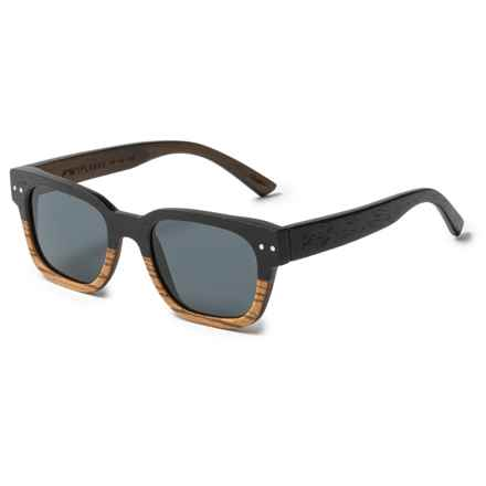 Proof Eyewear Pledge Sunglasses - Polarized in Wood - Closeouts