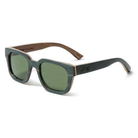 a0bb8708d9 Proof Eyewear Pledge Wood Sunglasses - Polarized in Earthtone - Closeouts