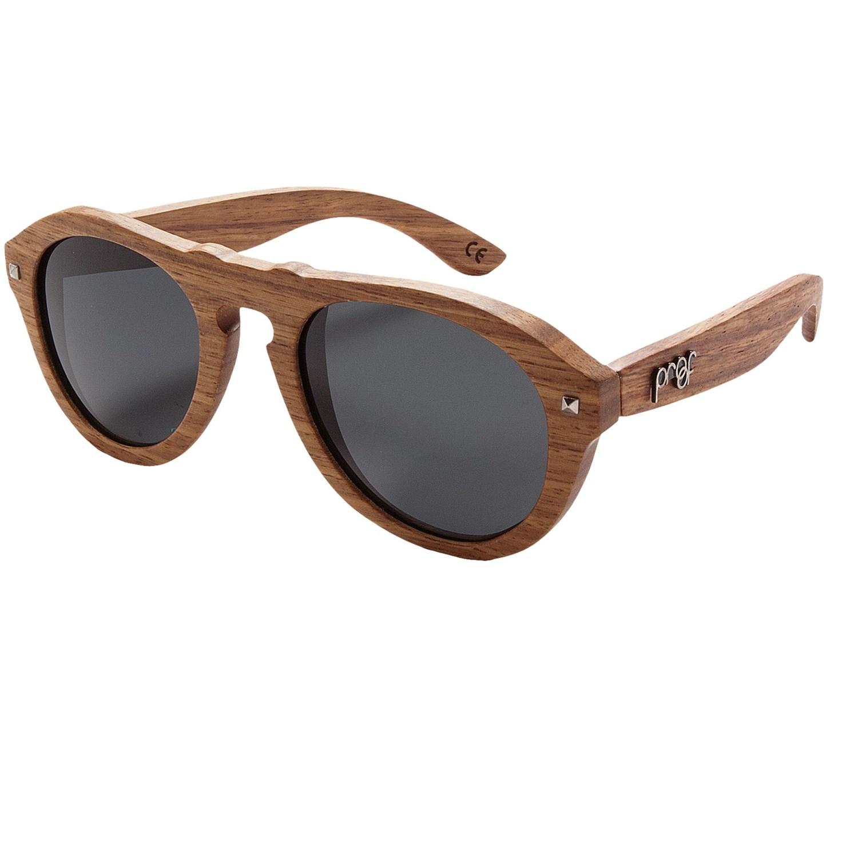proof eyewear prospector sunglasses polarized wood
