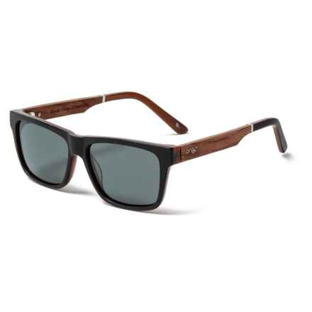 Proof Eyewear Ricks Eco Sunglasses - Polarized in Black - Closeouts