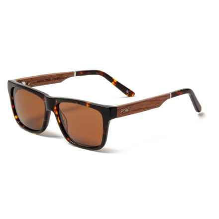 a169299c5b4 Proof Eyewear Tortoise Rick s Eco Sunglasses - Polarized in Tortoise Brown  - Closeouts