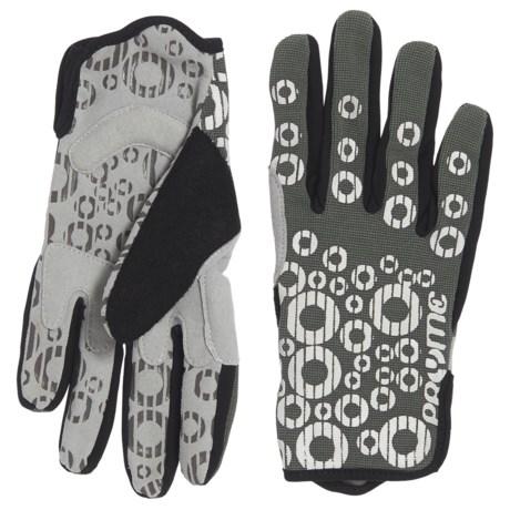 Pryme Strange Bike Gloves (For Women) in Gray/White