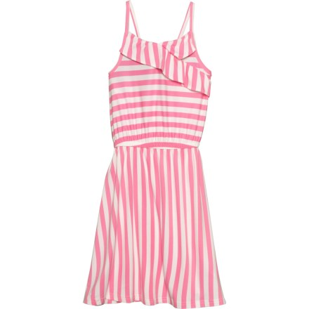 64d8ecb6 PS by Aero Striped Skinny Strap Dress - Sleeveless (For Big Girls) in Sachet