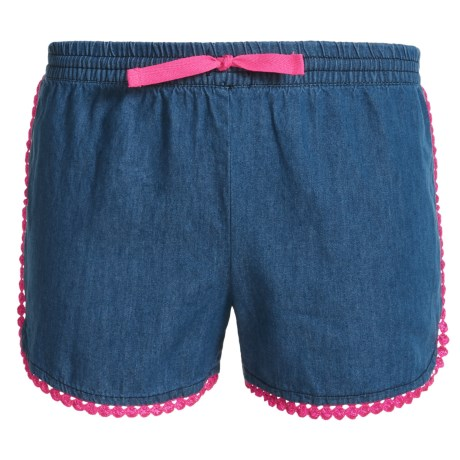 P.S. from Aeropostale Denim Shorts (For Big Girls) in Blue