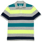 P.S. from Aeropostale Striped Polo Shirt - Short Sleeve (For Big Boys)
