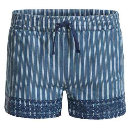 P.S. from Aeropostale Woven Shorts (For Big Girls) in Blue - Closeouts