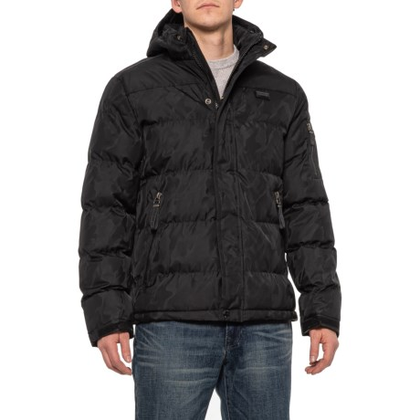 Puffer Jacket - Waterproof, Insulated (For Men) - BLACK (2XL )