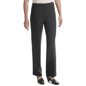 Pull-On Career Pants (For Women) in Black