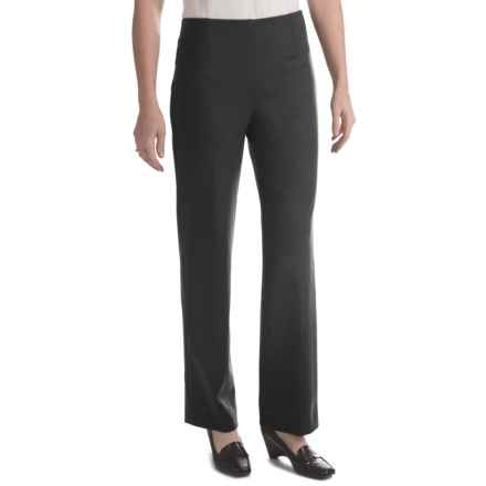 Pull-On Career Pants (For Women) in Black - 2nds
