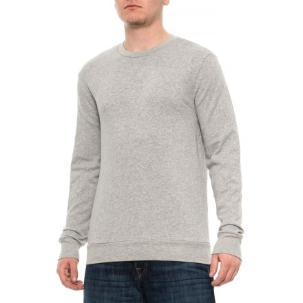 ad0849fdb4b4f Clearance. Pull&Bear Crew Sweatshirt - Long Sleeve (For Men) in Light  Heather Grey