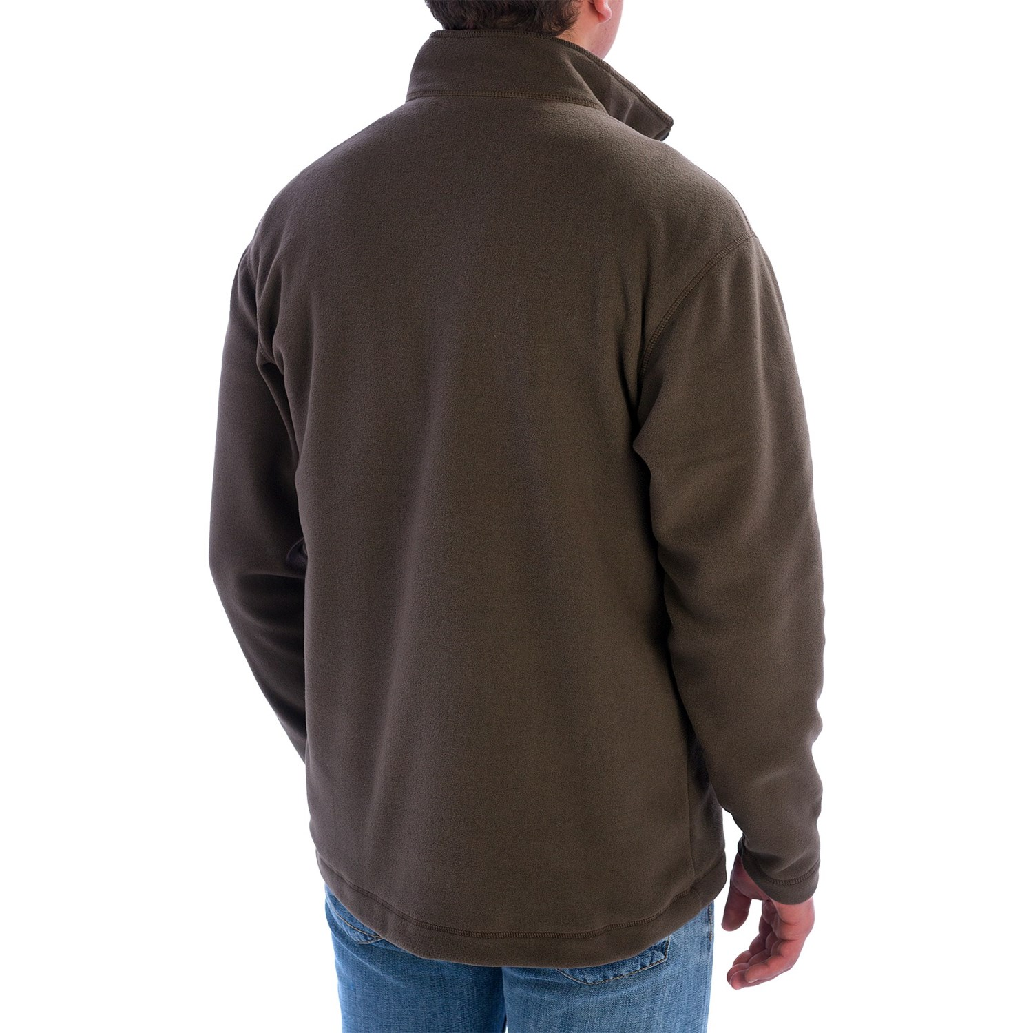 Pullover fleece shirt for men 7844x save 78 for Mens long sleeve pullover shirts
