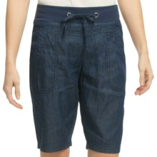 Pulp Denim Shorts (For Women) in Denim - Closeouts