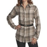 Pulp Double-Faced Cotton Gauze Shirt - Long Sleeve (For Women)