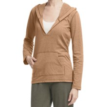 Pulp Pullover Hoodie Sweatshirt (For Women) in Wheat - Closeouts