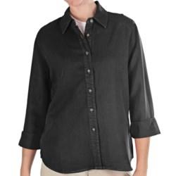 Pulp TENCEL® Shirt - 3/4 Sleeve (For Women) in Hazelnut