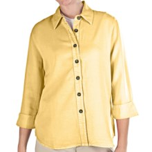 Pulp TENCEL® Shirt - 3/4 Sleeve (For Women) in Butter Cup - Closeouts