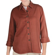 Pulp TENCEL® Shirt - 3/4 Sleeve (For Women) in Clove - Closeouts