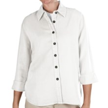 Pulp TENCEL® Shirt - 3/4 Sleeve (For Women) in White - Closeouts