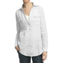 Pulp Two-Pocket Shirt - Linen, Long Sleeve (For Women) in White - Closeouts