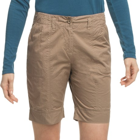 Pulp Walking Shorts (For Women) in Bamboo