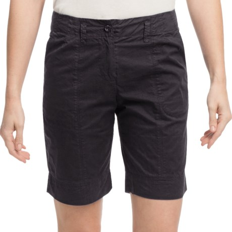 Pulp Walking Shorts (For Women) in Black