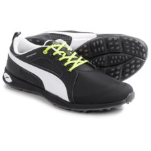 Puma BioFly Golf Shoes - Waterproof (For Men) in Black/White - Closeouts