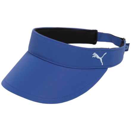 Puma Cat Visor Hat (For Women) in Dazzling Blue/Cool Blue - Closeouts
