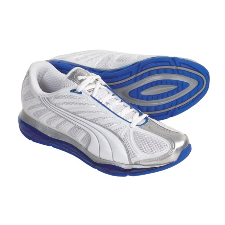 Puma Cell Voltra Shoes (For Men) in White/Silver/Royal