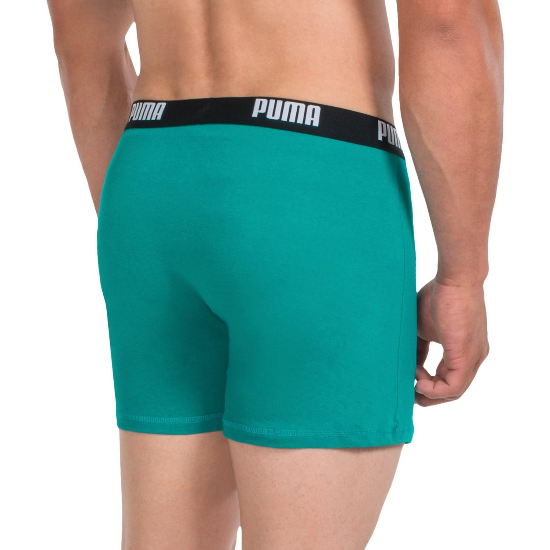 Puma Cotton Blend Boxer Briefs (For Men)