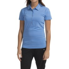 Puma Cresting Polo Shirt - UPF 30+, Short Sleeve (For Women) in Ultramarine - Closeouts